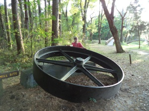 Big Iron Wheel in the park
