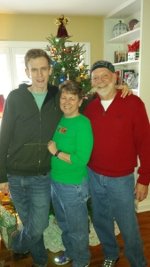 William, Kathy and me